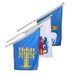 Flagmore Fasadset med landskapsflaggor