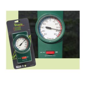 Glashusen Min/max termometer Vitav