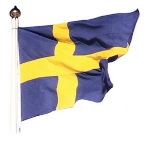 Heri AB Flagga - Svensk