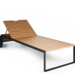 Röshults Garden Lounger
