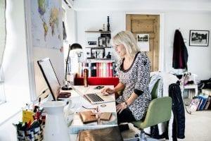 Tina Nordströms hus och kontor