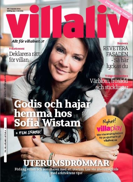 Omslag Villaliv nr 2, 2016 Sofia Wistam VillaPlay uterum
