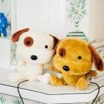 Sofia Wistams hem sällskapas av plyschhundar