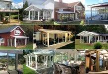 Kundernas egna bilder från hela landet visar massor av varianter av uterum Skånska Byggvaror