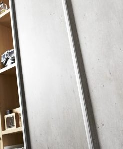 Mirro-Diamant silver betong_sovrum