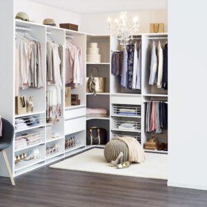 Mirro-Dressingroom vit