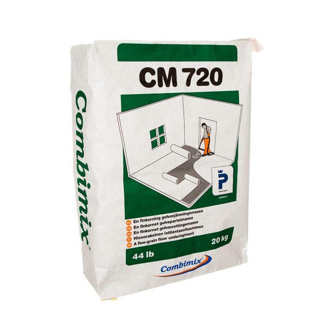 Combimix CM 720 Finavjämning