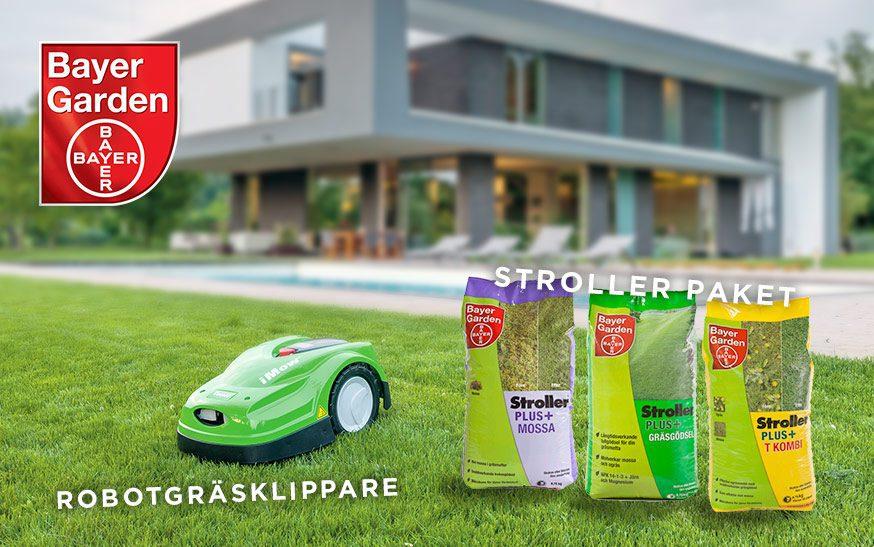Tävling Bayer Garden Villaliv vinn robotgräsklippare och strollerpaket