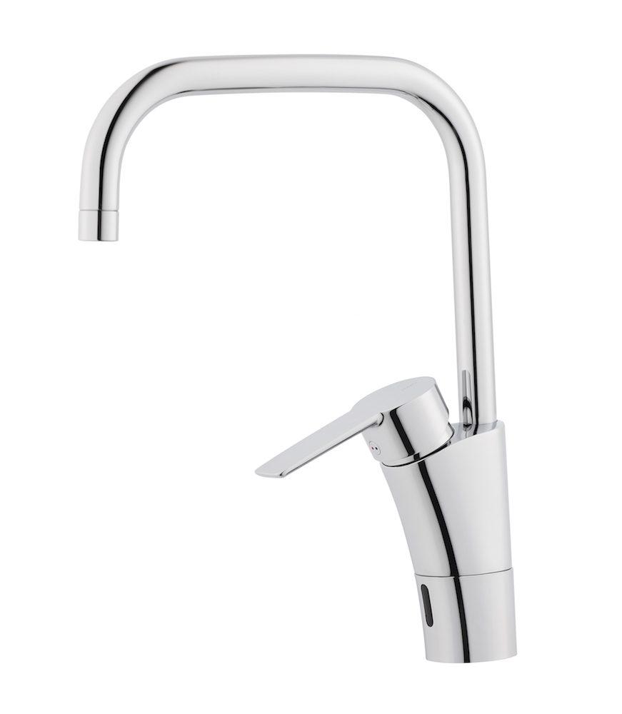 Hygieniskt och ekonomiskt med beröringsfri blandare i köket - Villaliv