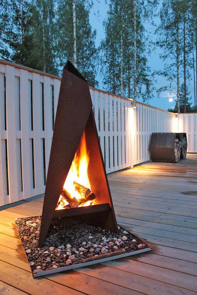 Gardenfire Tipi - eldstad & grill