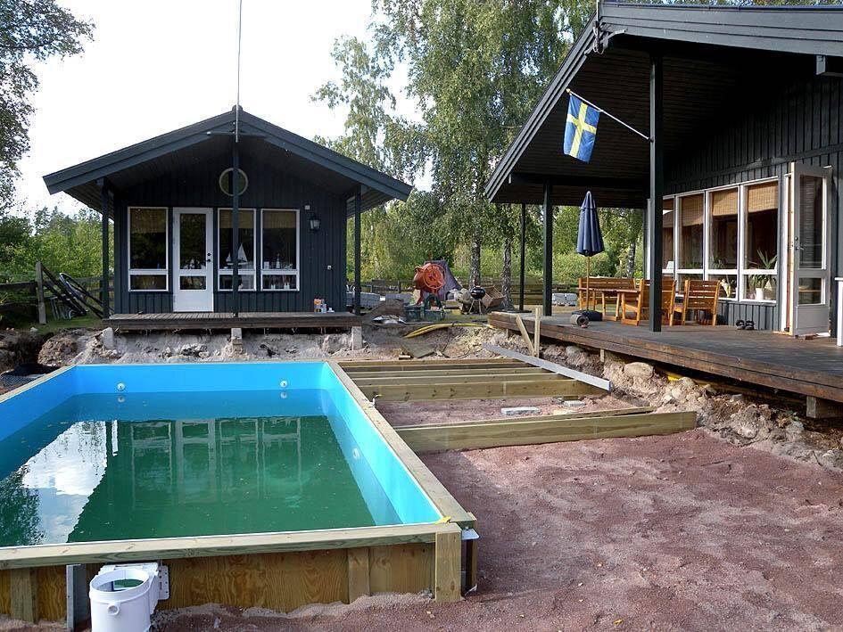 bygga pool hemma