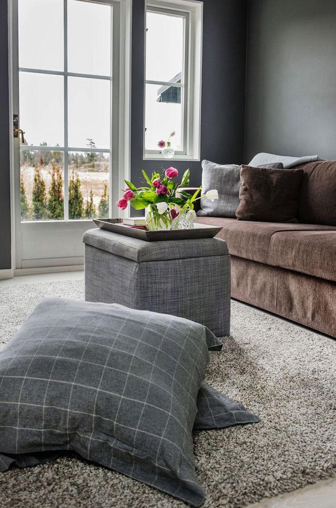 Denise Rudberg soffa i vardagsrummet