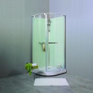 NORO Ocean R duschkabin vita väggar (stängd dörr) 900mm art