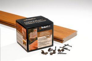 TimberTech Clips för dold infästning av planken