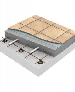 Uponor Golvvärme i betong najad mot armering