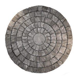 Flisby Marksten Plateau cirkel grafit