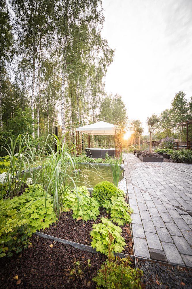 Utomhusspa - trädgårdsarkitekt