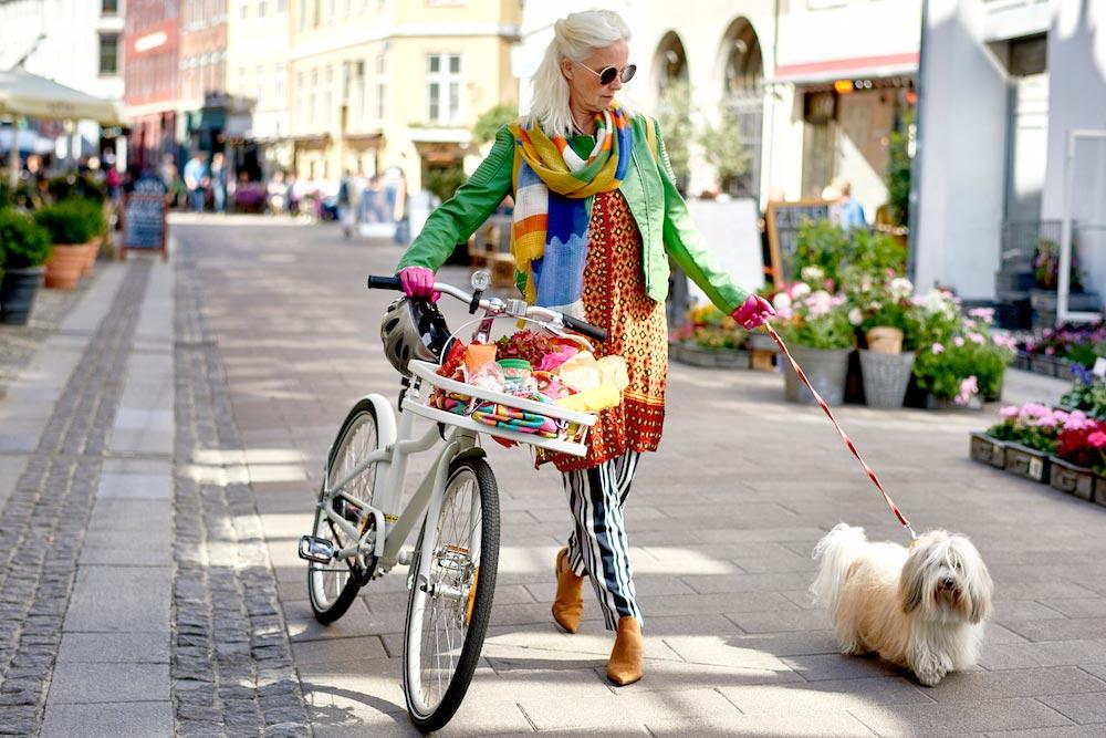 Miljömedveten shopping - SLADDA cykel