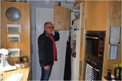 Pappa Norén vill minska elkostnader - med värmepump