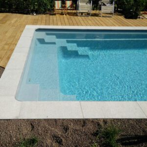Poolteam GLASFIBERPOOL POOLPAKET USA TRANQUILITY