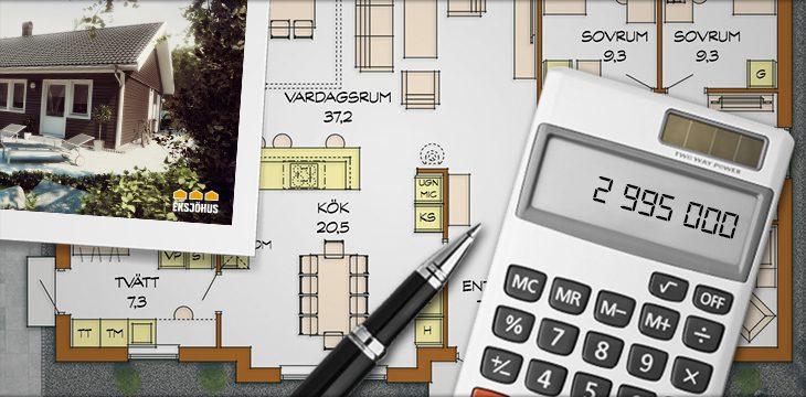 Budget för att bygga hus