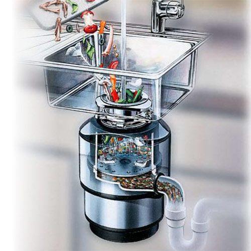 Köksrenovering - avfallskvarn
