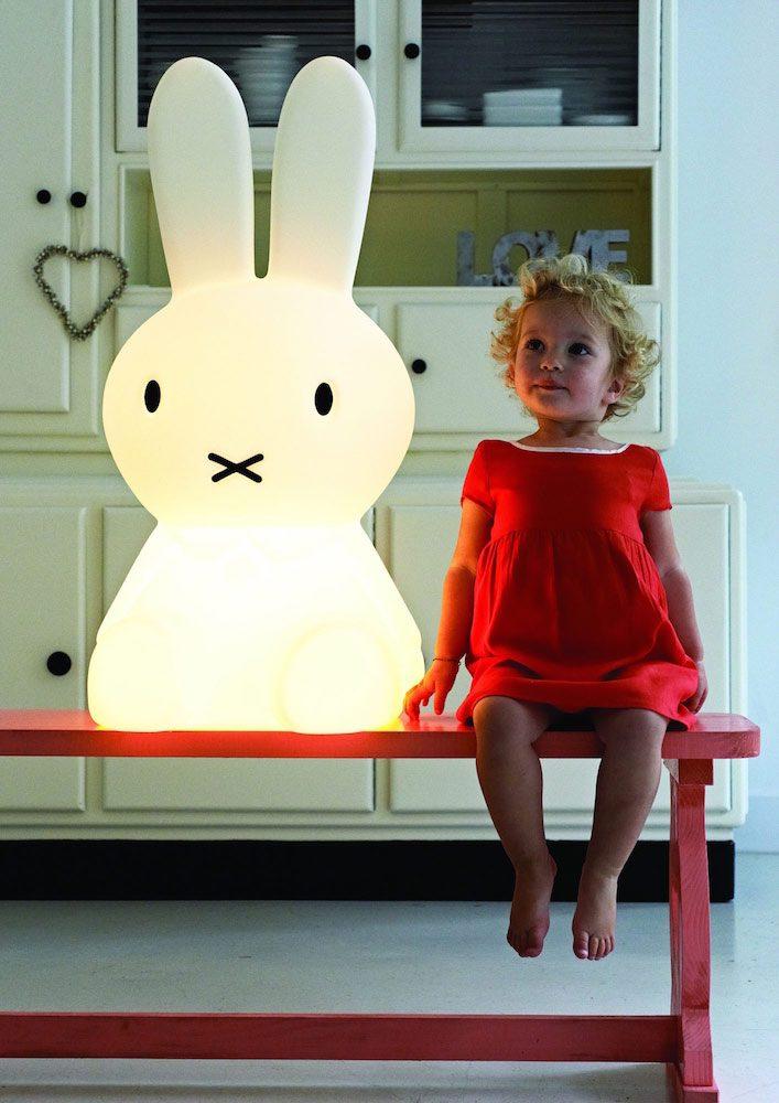 Miffi-lampa för mysbelysning åt barn