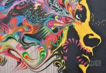 Självhäftande tapet Street Art