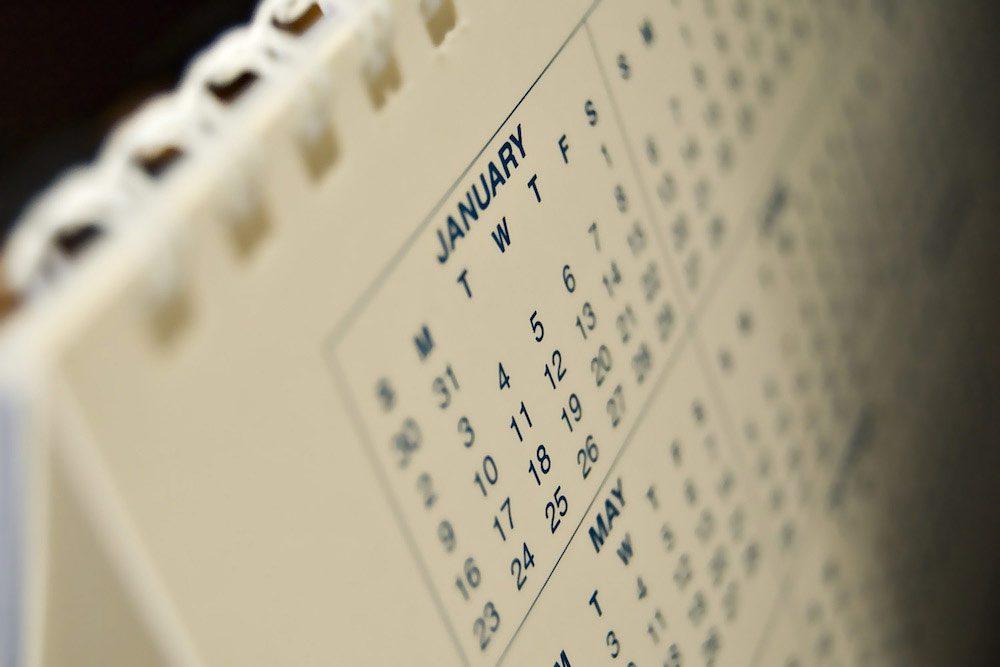 Köksrenovering - kalender