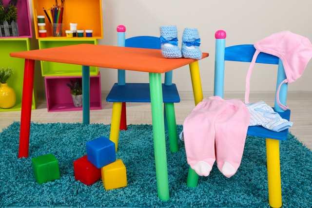 Inspiration till barnrummet matbord