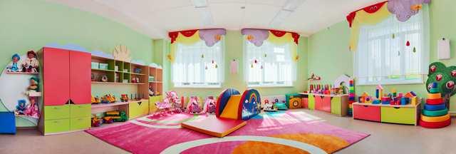 Inspiration till barnrummet - rymligt barnrum
