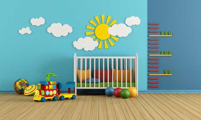 Inspiration till barnrummet spjälsäng
