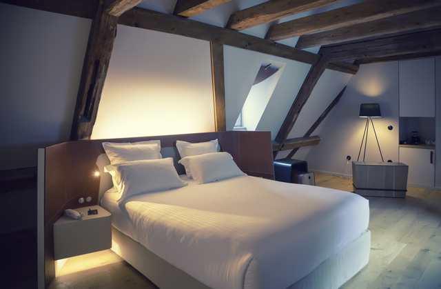 Takbelysning i sovrum