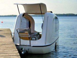 husvagn och båt