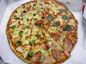 julskinka pizza
