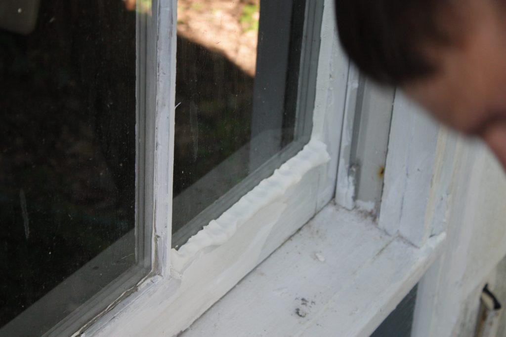 Kitta om fönstret själv