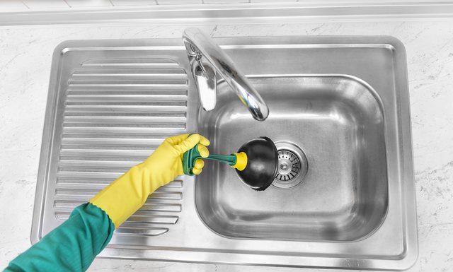 Stopp i vasken i köket