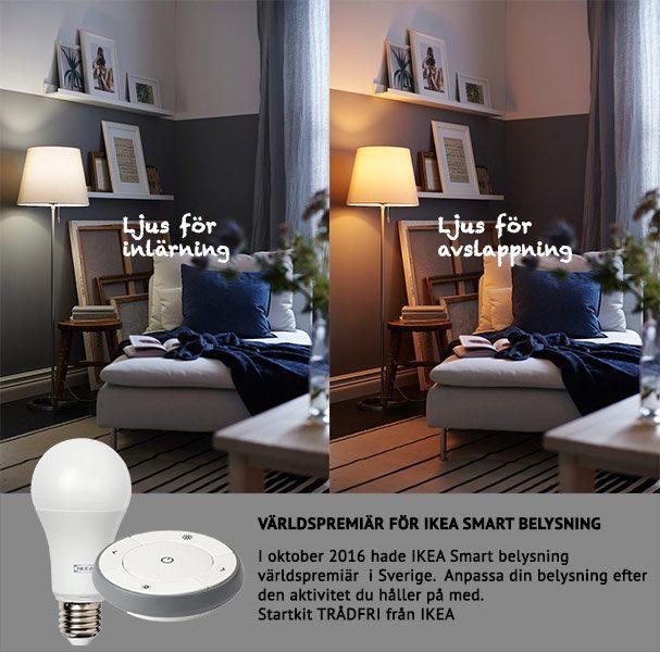 smarta hem med smart belysning