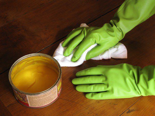 måla om möbler med möbelvax