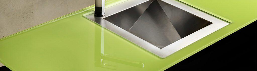 Välja bänkskiva till köket - glas