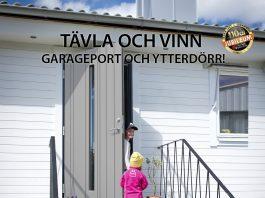 Vinn garageport och ytterdörr