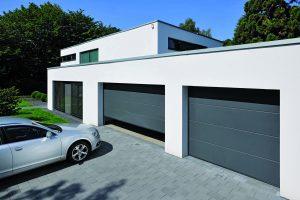 ny garageport L-profil från Hörmann