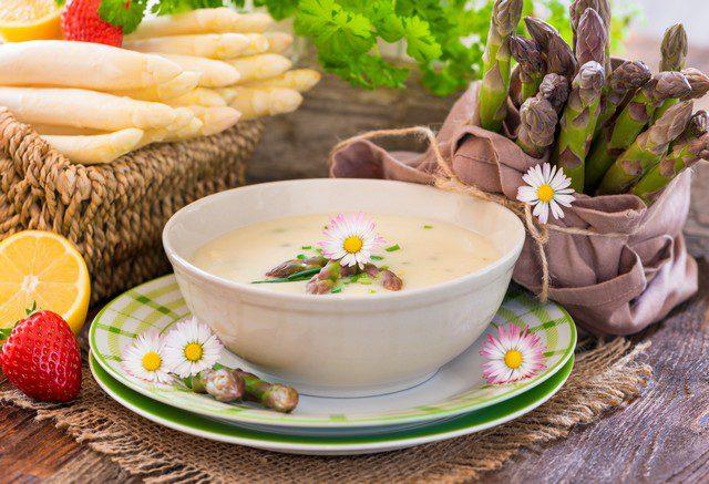 odla sparris till soppa