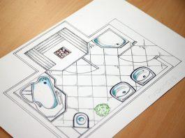 Planera badrum med svängrum
