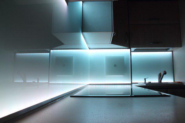 punktbelysning i köket