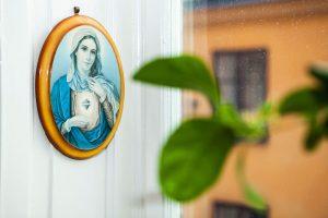 religiös ikon hemma hos Helena von Zweigbergk