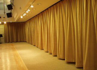 breda ljuddämpande gardiner