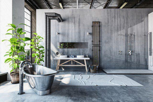 industriell design badrum