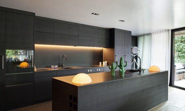 inspiration svart kök