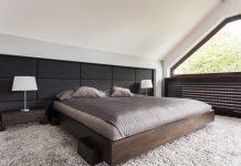 heltäckningsmatta sovrum luddig